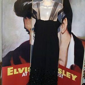 Tatyana Dresses Black Magic Dress Hand Craft Roses Gems Poshmark